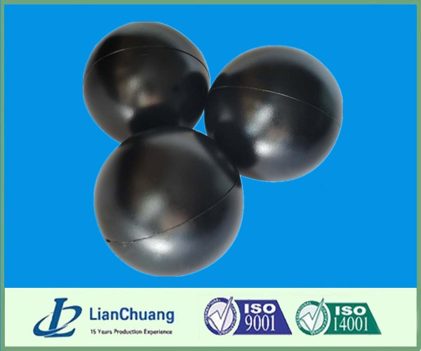 100mm Black HDPE Plastic Conservation Reservoir Ball